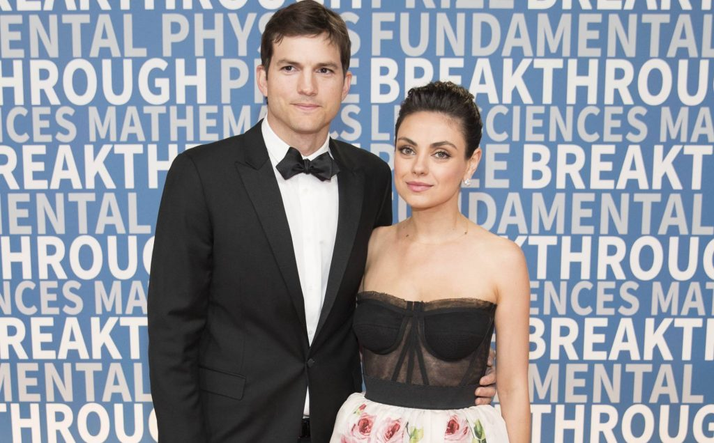 Ashton Kutcher y Mila Kunis famoso que desheredaron a sus hijos
