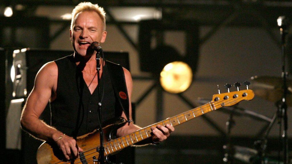 Sting famosos que desheredaron a sus hijos